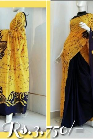 Sri Lankan Batik Saree